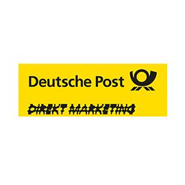 Deutsche Post DIREKT MARKETING: Seit 12 Jahren sind wir zertifizierte Partneragentur der Deutschen Post AG für die Konzeption und Gestaltung von Direkt-Marketing Aktionen.