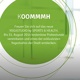 AMBIENT MEDIA - YOGASTUDIO BY SPORTS & HEALTH, MÜNCHEN Beispielbild klein