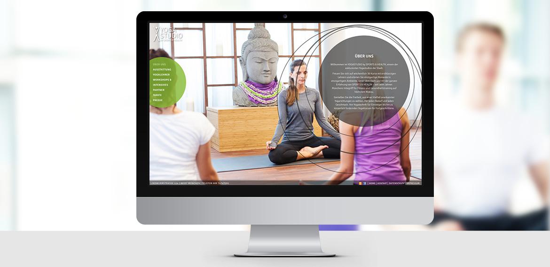 NEUE WEBSITE - YOGASTUDIO BY SPORTS & HEALTH, MÜNCHEN Beispielbild 29_1