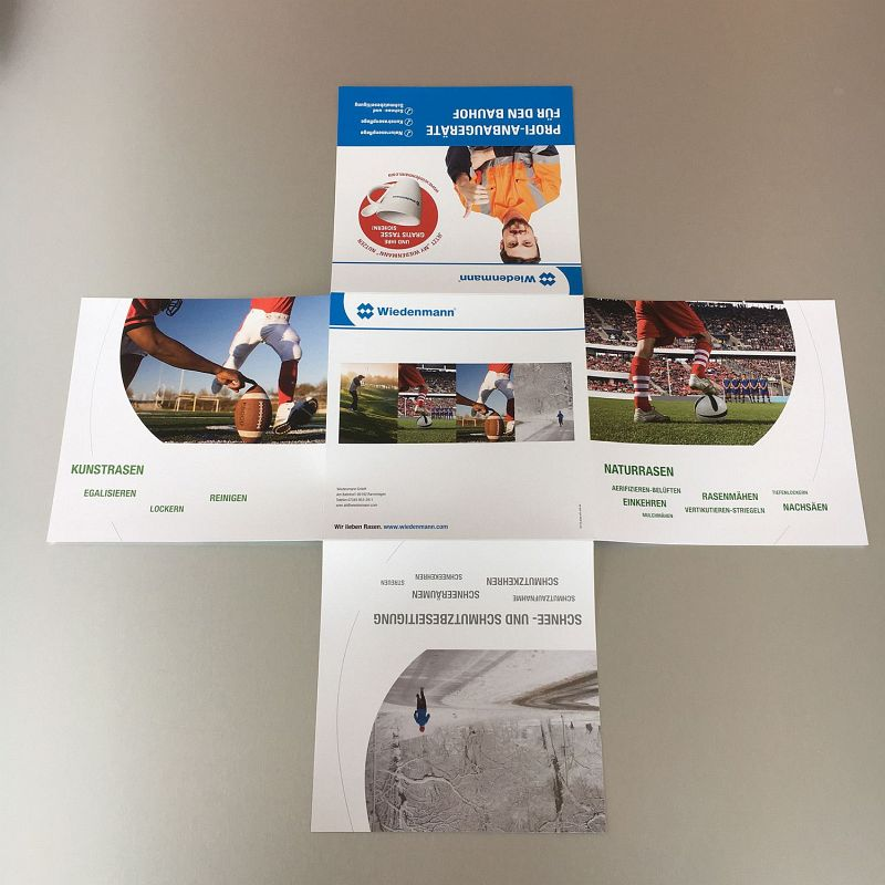 Printmailing an Bauhöfe - WIEDENMANN GMBH, RAMMINGEN Beispielbild klein