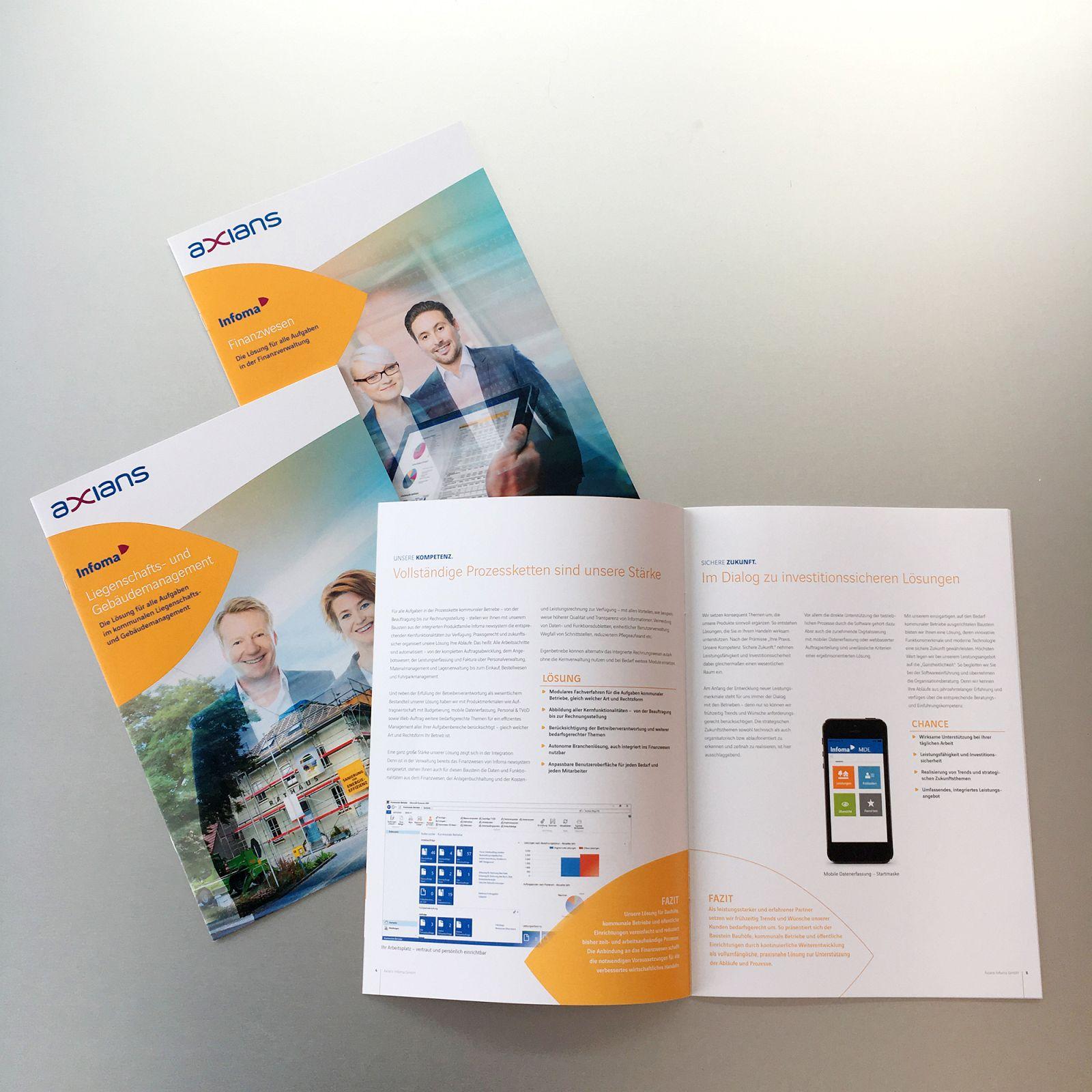 Software-Unternehmen in neuem Gewand - Aus INFOMA wird Axians Infoma GMBH Beispielbild klein
