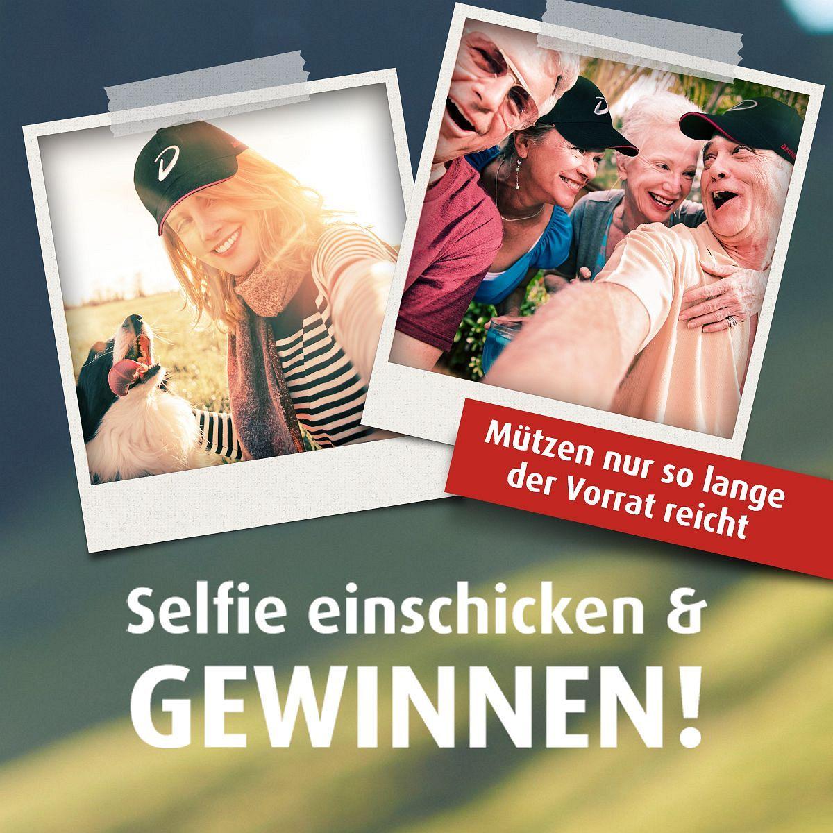 Dethleffs-Gewinnspiel - Selfie machen und gewinnen Beispielbild klein