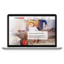 NEUES WEBPORTAL - SCHWENK ZEMENT KG, ULM Beispielbild klein