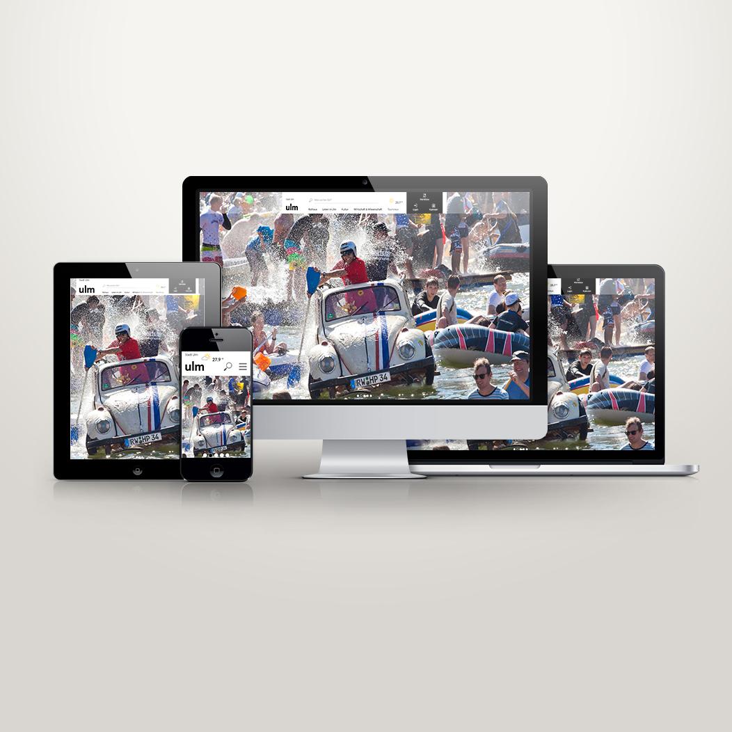 Neues Webportal Ulm.de