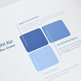 CORPORATE DESIGN - Projekt & Entwicklung Bau-GmbH, Blaubeuren-Asch Beispielbild klein
