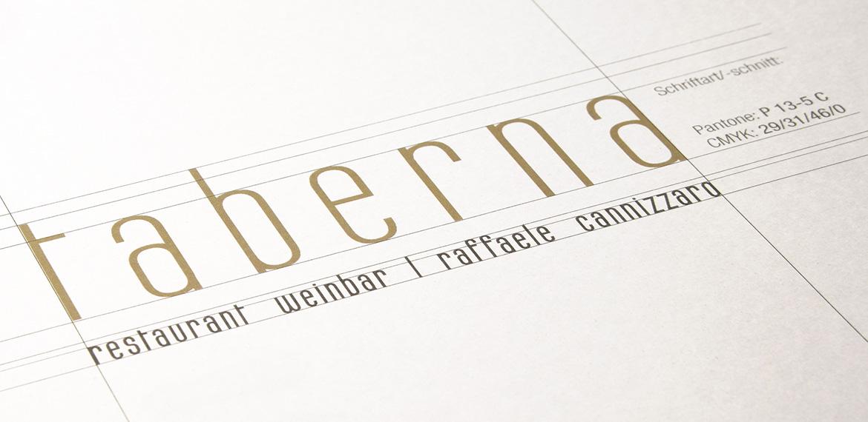 ENTWICKLUNG CORPORATE DESIGN - taberna restaurant & weinbar, Müllheim Beispielbild 8_1