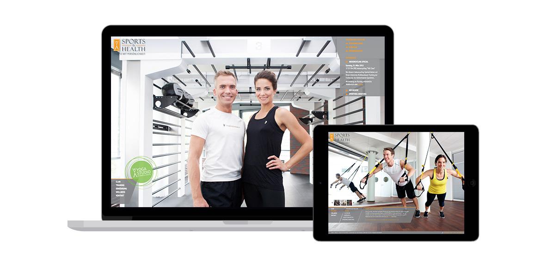 NEUE WEBSITE - SPORTS & HEALTH FITNESS-CLUB, MÜNCHEN Beispielbild 40_1