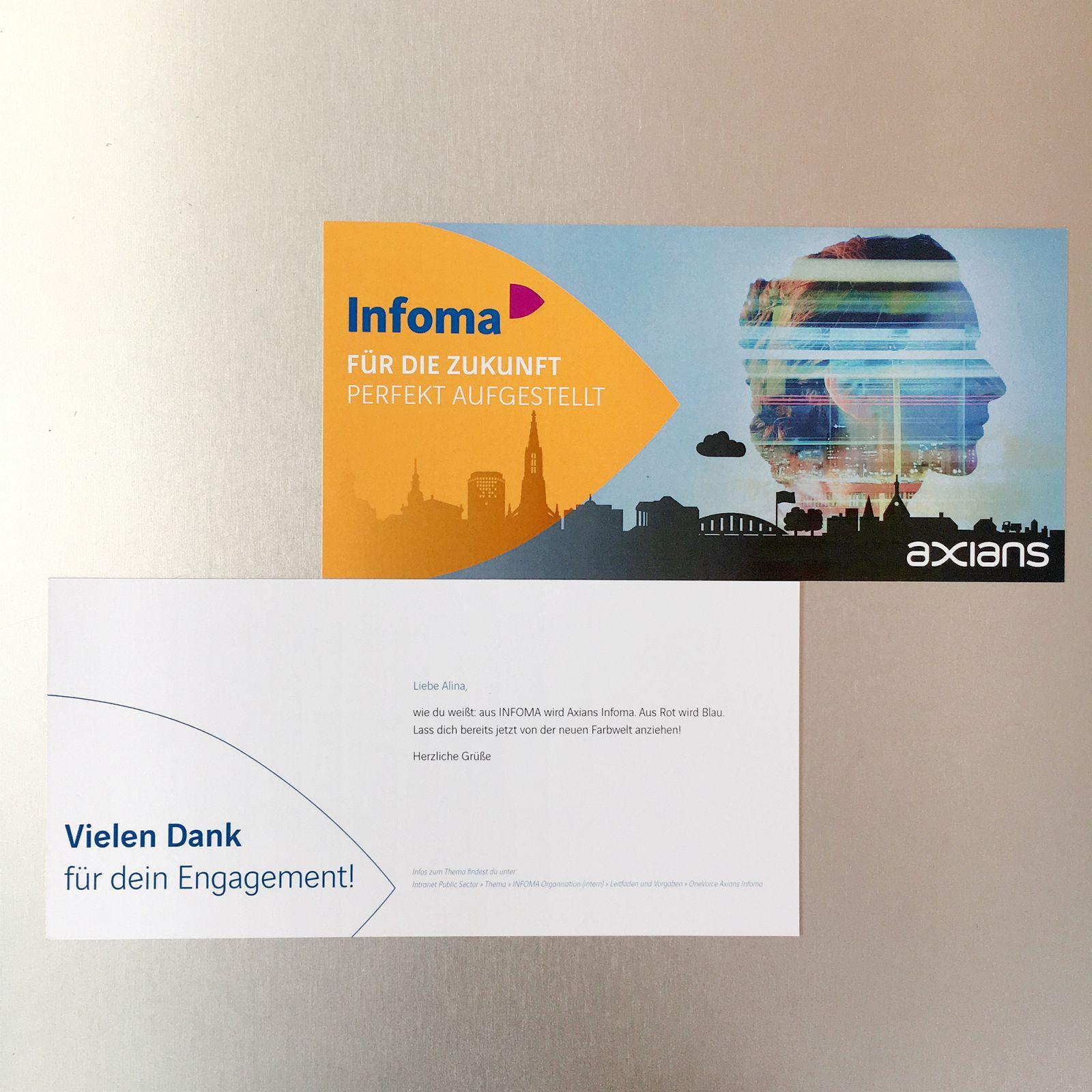 Software-Unternehmen in neuem Gewand - Aus INFOMA wird Axians Infoma GMBH Beispielbild 55_3