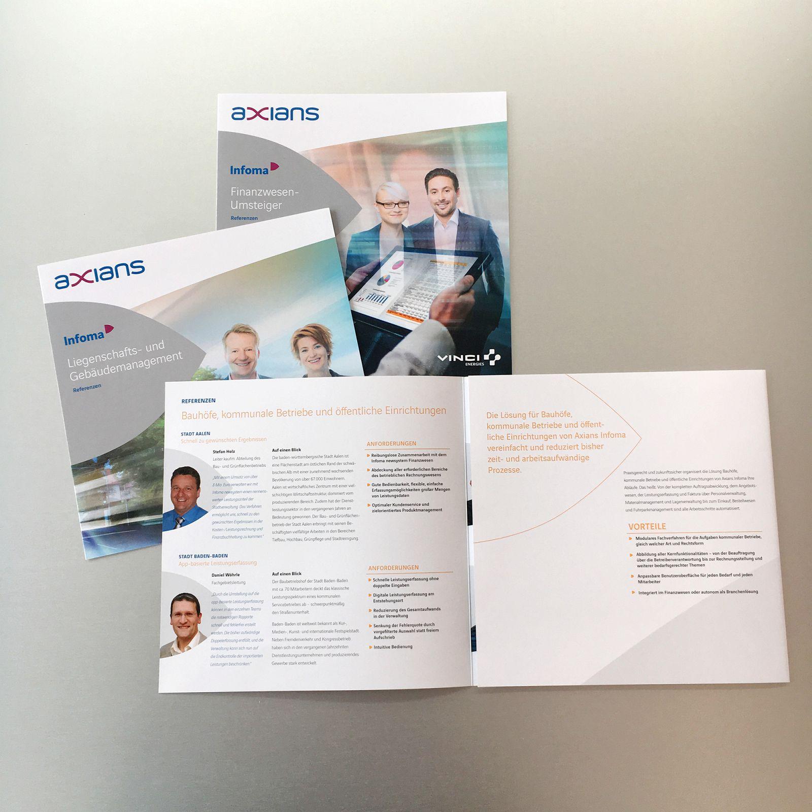 Software-Unternehmen in neuem Gewand - Aus INFOMA wird Axians Infoma GMBH Beispielbild 55_4